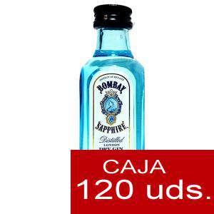 Ginebra - Ginebra Bombay Sapphire 5cl Cristal - CAJA DE 120 UDS (Últimas Unidades)