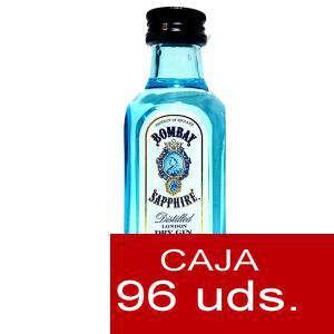 Ginebra - Ginebra Bombay Sapphire 5cl Cristal - CAJA DE 96 UDS