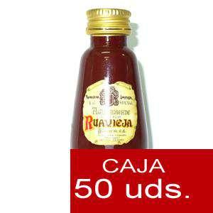 Licores, orujos y crema - Aguardiente de orujo Ruavieja 5cl CAJA DE 50 UDS