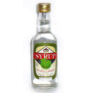 Otros - Licor manzana verde Syrup SIN ALCOHOL 5 cl
