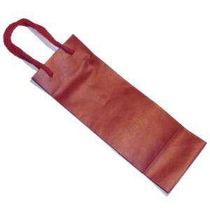 Vino - Bolsa Papel para Vino Rojo Pequeño (26.5 x 9 cm)