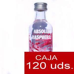 Imagen Vodka Vodka Absolut Raspberry 5cl CAJA DE 120 UDS