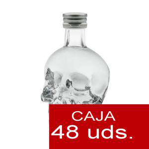 Vodka - Vodka Crystal Head 5cl. CAJA 48 UDS