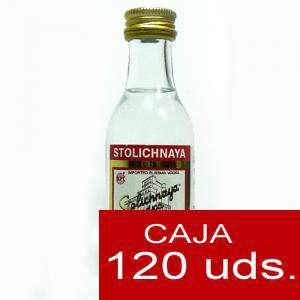 Vodka - Vodka Stolichnaya 5cl CAJA DE 120 UDS