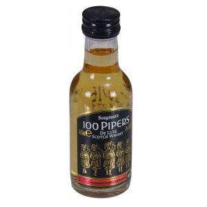 Whisky - Whisky 100 pipers 5cl (Últimas Unidades)