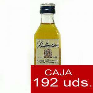 Whisky - Whisky Ballantines 12 Blend 4cl CAJA DE 192 UDS