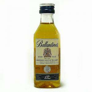 Whisky - Whisky Ballantines 12 Blend 4cl (Últimas Unidades)