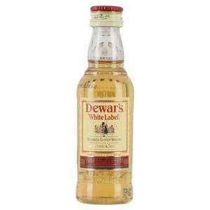 Whisky - Whisky Dewar´s White Label 5cl (OFERTA TEMPORAL)
