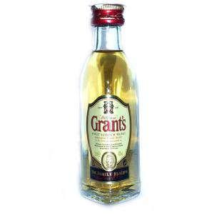 Whisky - Whisky Grants Escocés 5cl