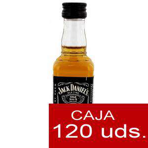 Whisky - Whisky Jack Daniels Plastico CAJA DE 120 UDS