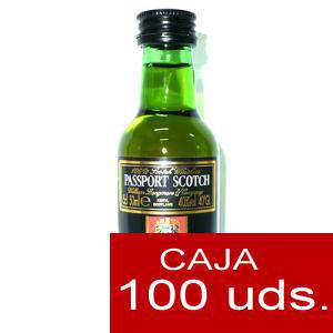 Whisky - Whisky Passport Scotch 5cl CAJA DE 100 UDS