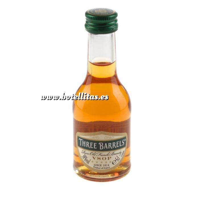 Imagen Brandy Brandy Three Barrels VSOP 5cl.