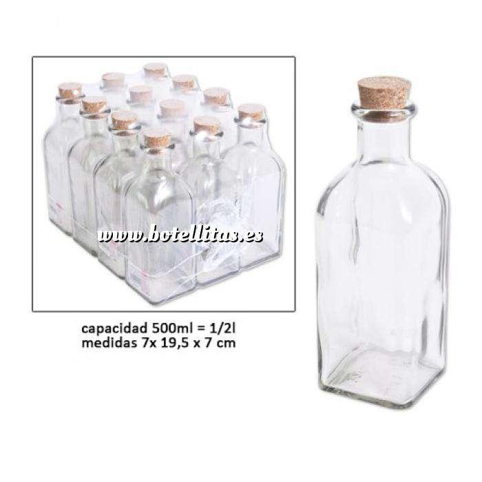 Imagen Frascas y Tarros VACÍOS Frasca Vacía 500 ml