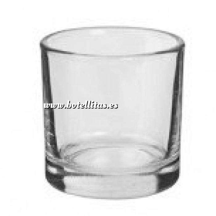 Imagen Frascas y Tarros VACÍOS Vaso de Chupito de Cristal 4,5 x 4 x 4