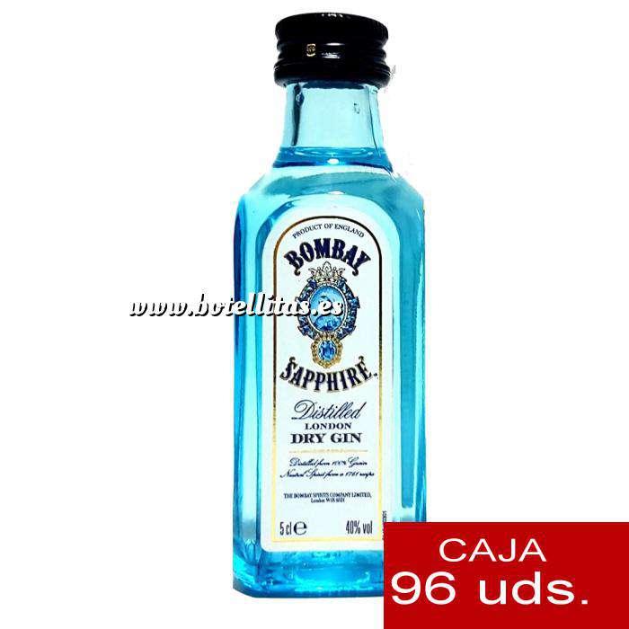 Imagen Ginebra Ginebra Bombay Sapphire 5cl Cristal - CAJA DE 96 UDS