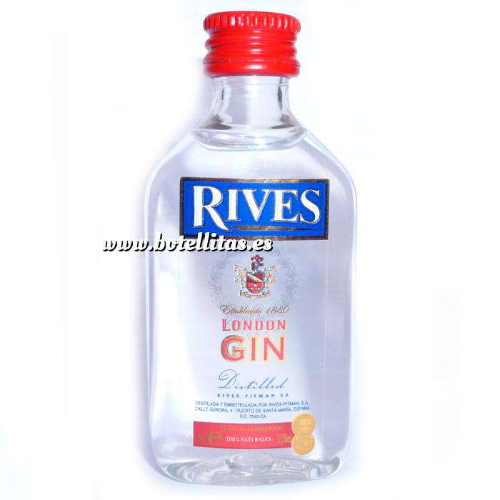 Imagen Ginebra Ginebra Rives London Gin 5cl