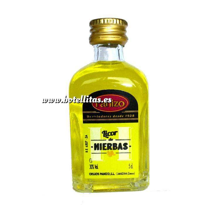 Imagen Licores, Orujos y Crema Mini Orujo de hierbas Panizo 5cl