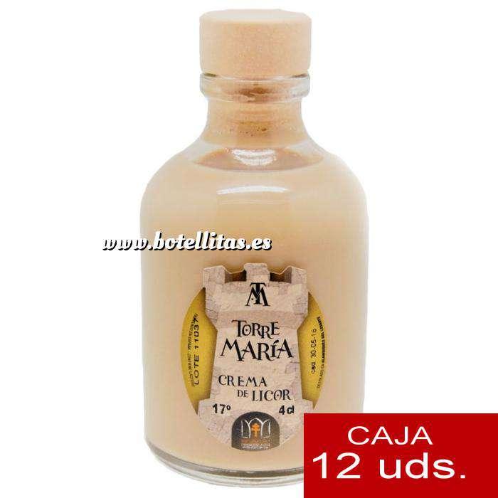 Imagen Licores, orujos y crema Crema de licor ROCÍO 50 (Torre María) - CAJA DE 12 UDS