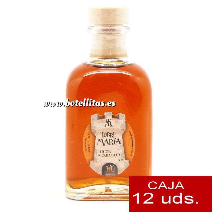 Imagen Licores, orujos y crema Licor de Caramelo Torre María FRASCA 100 - CAJA DE 12 UDS