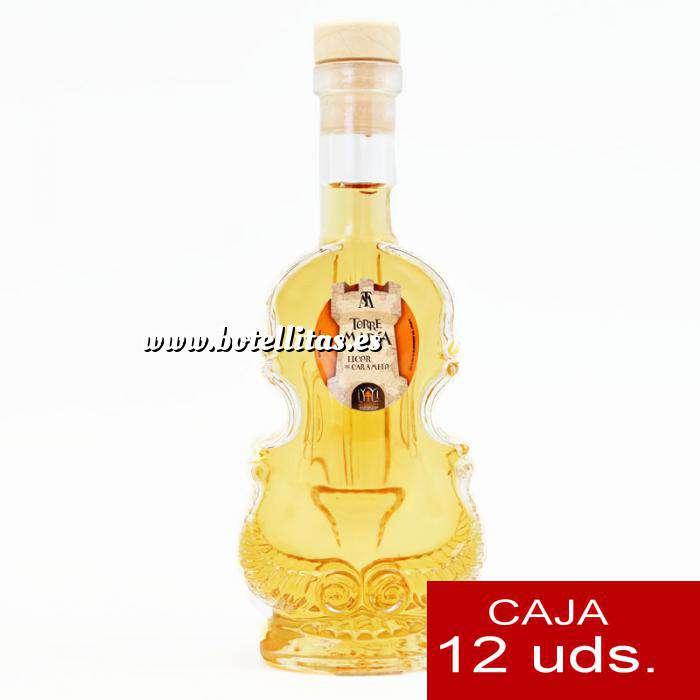 Imagen Licores, orujos y crema Licor de Caramelo Torre María VIOLÍN - CAJA DE 12 UDS
