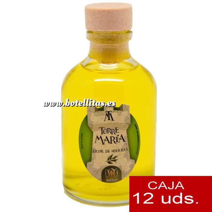 Imagen Licores, orujos y crema Licor de Hierbas ROCÍO 50 (Torre María) - CAJA DE 12 UDS
