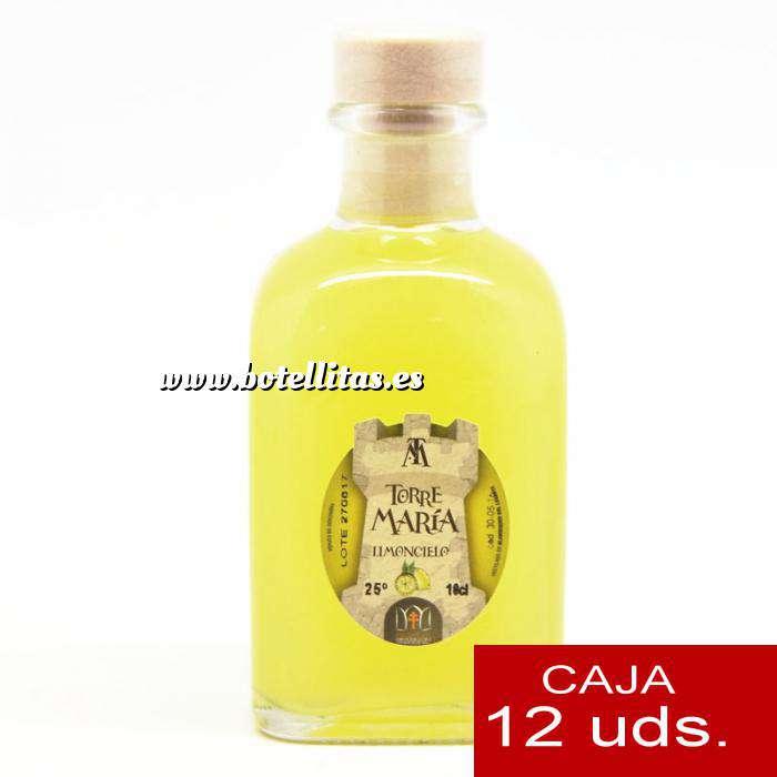Imagen Licores, orujos y crema Licor de Limón Torre María FRASCA 100 - CAJA DE 12 UDS