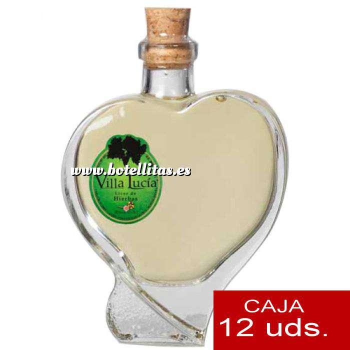 Imagen Licores, orujos y crema Orujo de Hierbas Villa Lucía CUORE 10 cl. CAJA DE 12 UDS (Últimas Unidades)
