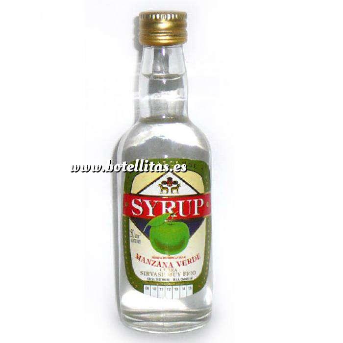 Imagen Otros Licor manzana verde Syrup SIN ALCOHOL 5 cl