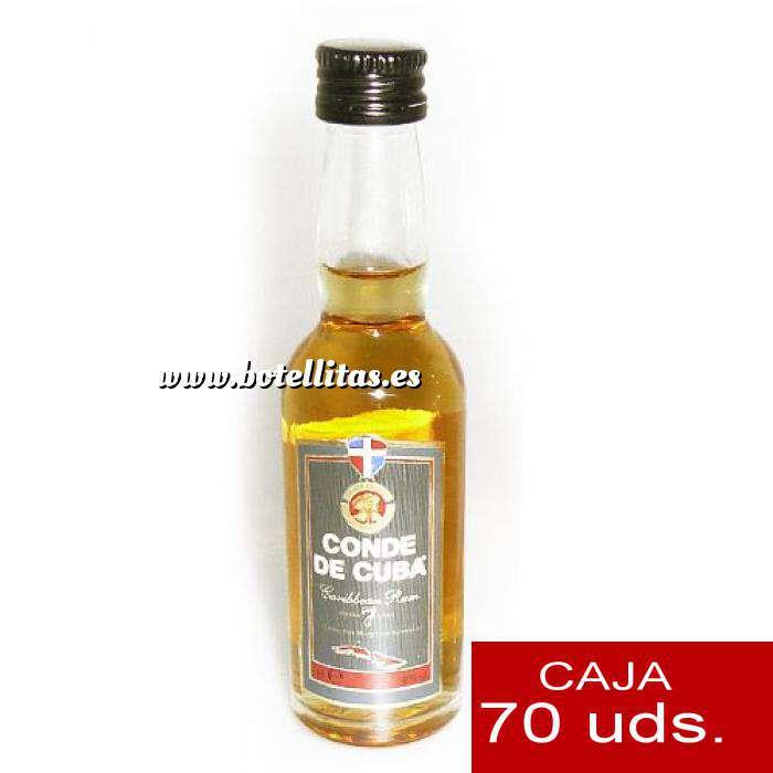 Imagen Ron Ron Conde de Cuba 7 años 4cl CAJA DE 70 UDS