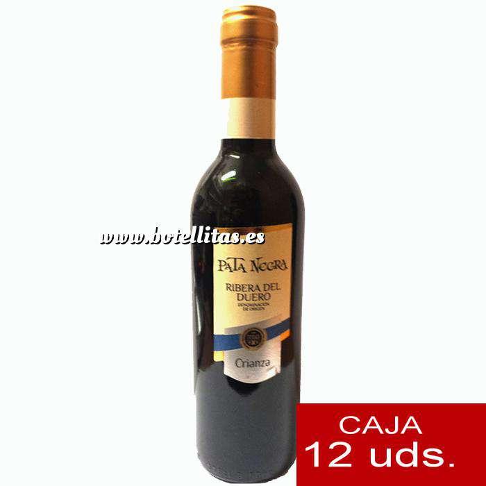 Imagen Vino Vino Pata Negra Rivera de Duero Crianza 37.5 cl CAJA COMPLETA 12 UDS