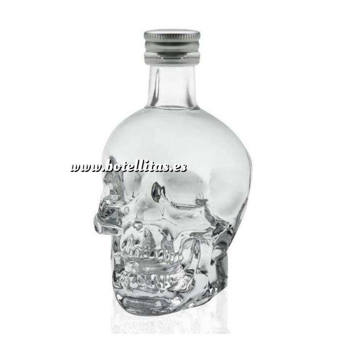Imagen Vodka Vodka Crystal Head 5cl.
