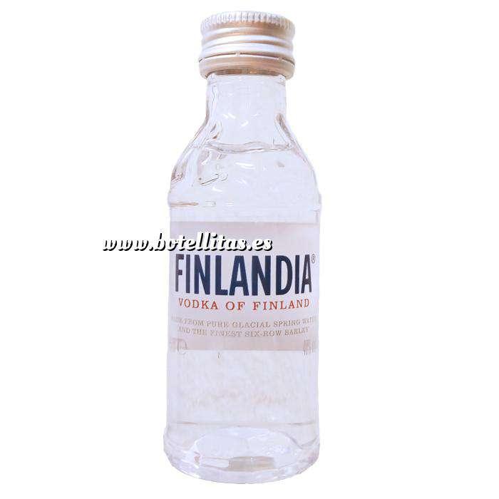 Imagen Vodka Vodka FINLANDIA 5cl.