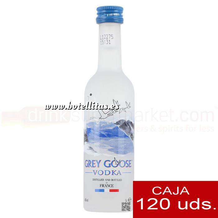 Imagen Vodka Vodka Grey Goose 5cl CAJA DE 120 UDS