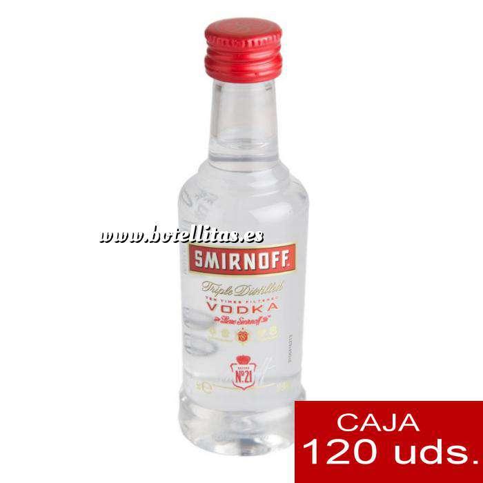 Imagen Vodka Vodka Smirnoff 5cl CAJA DE 120 UDS