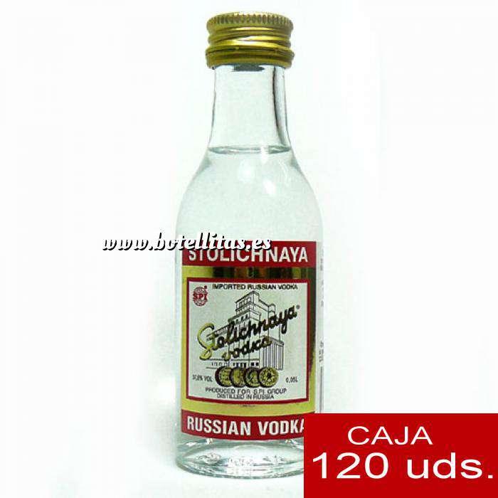 Imagen Vodka Vodka Stolichnaya 5cl CAJA DE 120 UDS