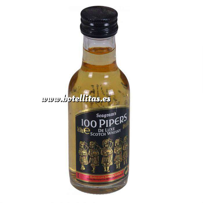 Imagen Whisky Whisky 100 pipers 5cl