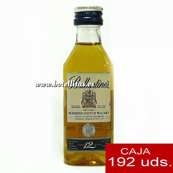 Imagen Whisky Whisky Ballantines 12 Blend 4cl CAJA DE 192 UDS