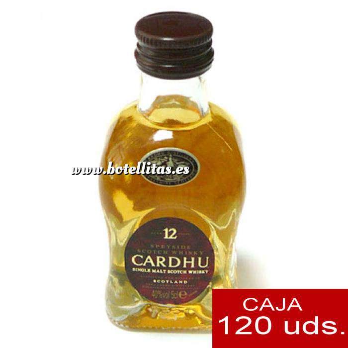 Imagen Whisky Whisky Cardhu 12 años 5cl CAJA DE 120 UDS