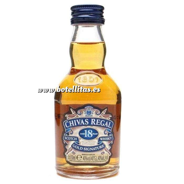 Imagen Whisky Whisky Chivas Regal 18 años Gold Signature 5cl COLECCIONISTA (Últimas Unidades)