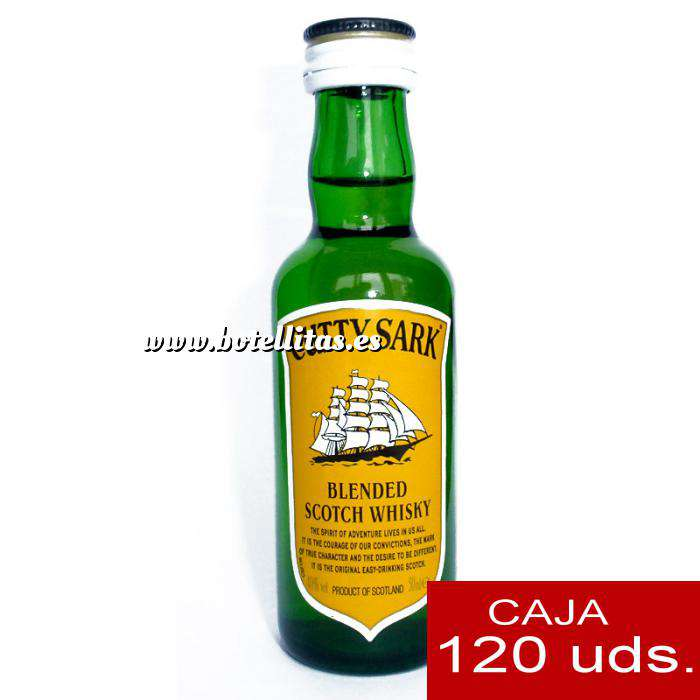 Imagen Whisky Whisky Cutty Sark 5cl CAJA DE 120 UDS