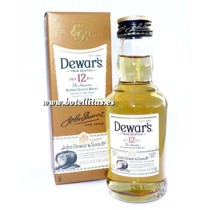 Imagen Whisky Whisky Dewar´s White Label 12 años ed. Especial 5cl