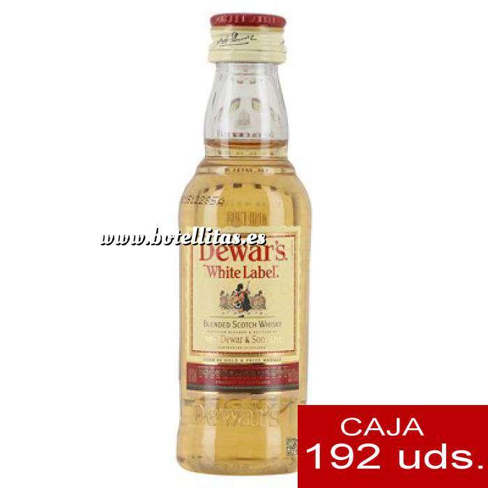 Imagen Whisky Whisky Dewar´s White Label CAJA DE 192 UDS