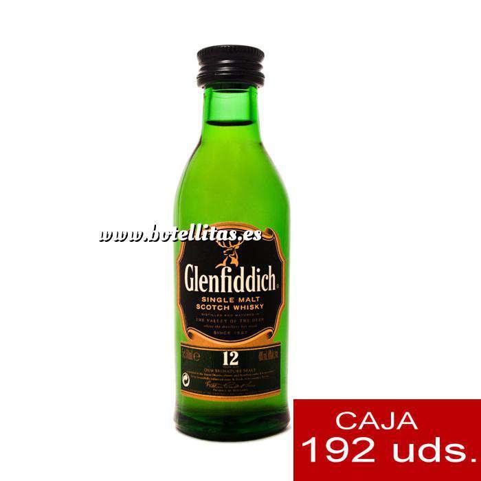Imagen Whisky Whisky Glenfiddich 12 años (sin tubo), 5CL . CAJA DE 192 UDS