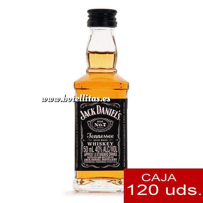 Imagen Whisky Whisky Jack Daniels 5cl Cristal CAJA 120 UDS ( PROMOCION PREMIUM )