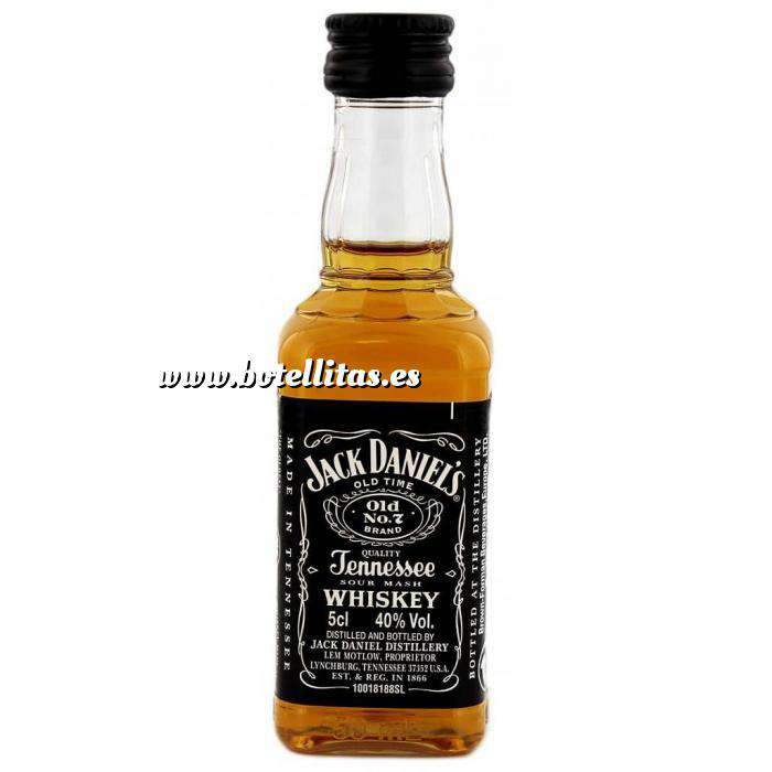 Imagen Whisky Whisky Jack Daniels 5cl Plástico (OFERTA LIMITADA) (Últimas Unidades)