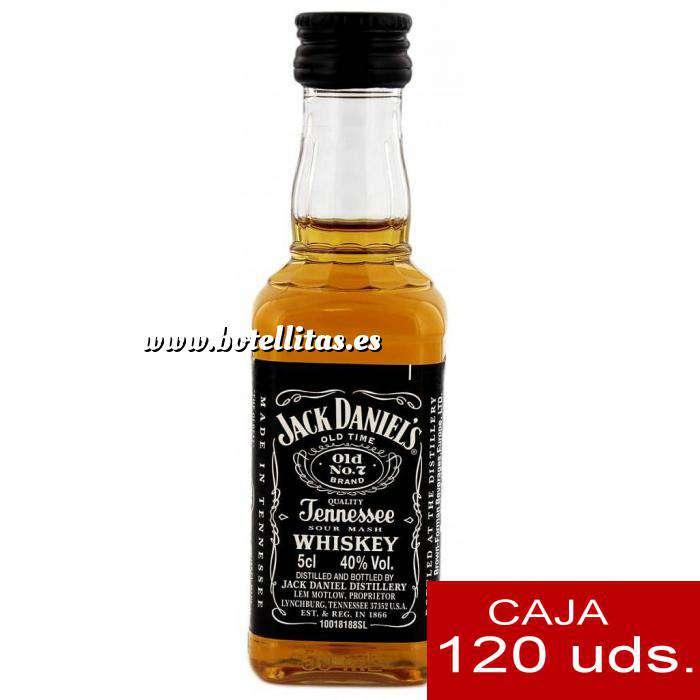 Imagen Whisky Whisky Jack Daniels Plastico CAJA DE 120 UDS