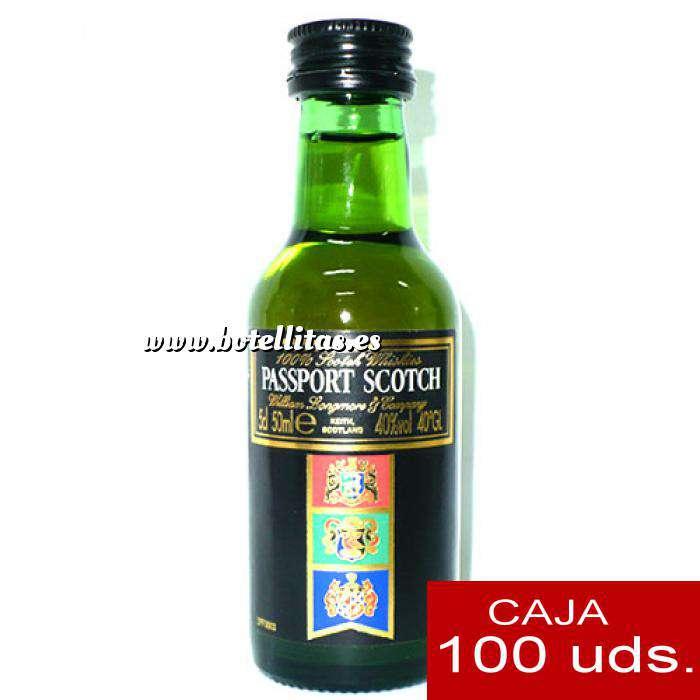 Imagen Whisky Whisky Passport Scotch 5cl CAJA DE 100 UDS