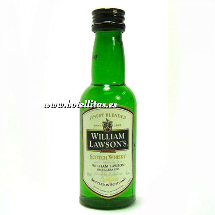 Imagen Whisky whisky William Lawson 5cl