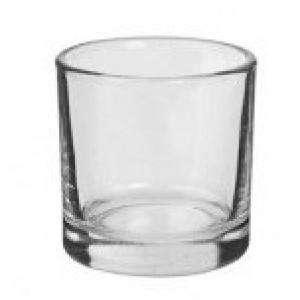Frascas y Tarros VACÍOS - Vaso de Chupito de Cristal 4,5 x 4 x 4