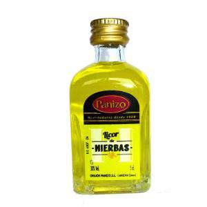 Licores, Orujos y Crema - Mini Orujo de hierbas Panizo 5cl